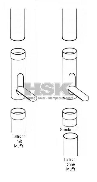 design regenwasserklappe fallrohrklappe kupfer f r fallrohr. Black Bedroom Furniture Sets. Home Design Ideas