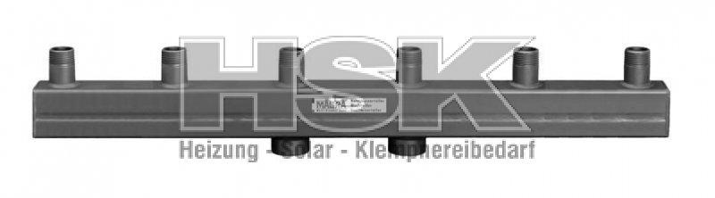 Heizungsverteiler / Kesselverteiler Magra Typ 60-12,5 / 3 Heizgru
