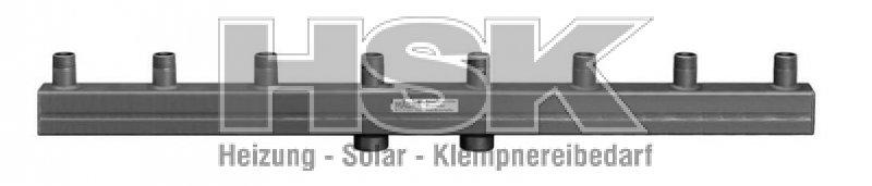 Heizungsverteiler / Kesselverteiler Magra Typ 60-12,5 / 4 Heizgru