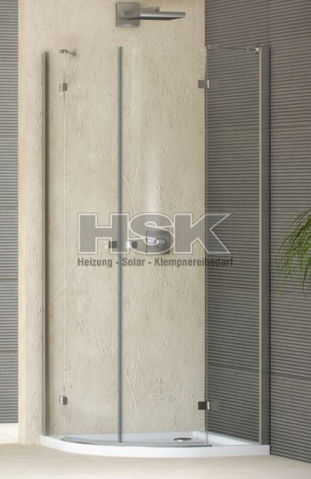 rundkabine viertelkreis duschabtrennung duka duo 600 900x1950mm profile silber echtglas 6mm. Black Bedroom Furniture Sets. Home Design Ideas