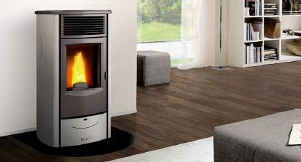 k nzel pelletofen pelletkessel wassergef hrter pellet kaminofen pk w 8 ebay. Black Bedroom Furniture Sets. Home Design Ideas