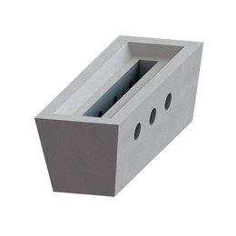 Solarbayer Brennkammerstein Schamottstein für Brennkammer Holzvergaserkessel
