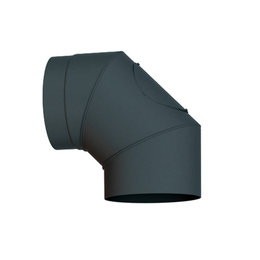 mit Spannverschluss 200mm Solarbayer Au/ßenkamin Statische Rohrschelle